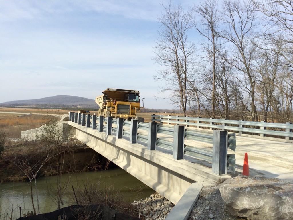 Vulcan Materials Quarry Bridge