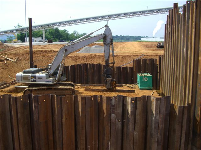 Sheet Piling Amp Shoring Heavy Highway Contractor