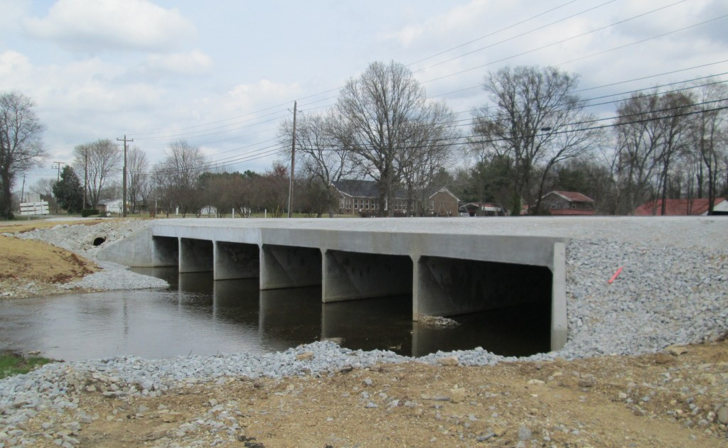 Mooresville Road Bridge Culvert